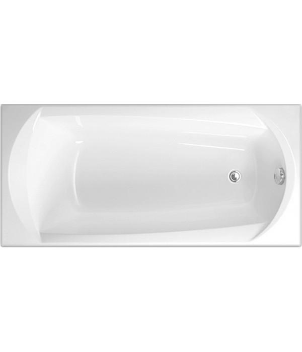 Акриловая ванна Vagnerplast Ebony 160 см, ультра белый
