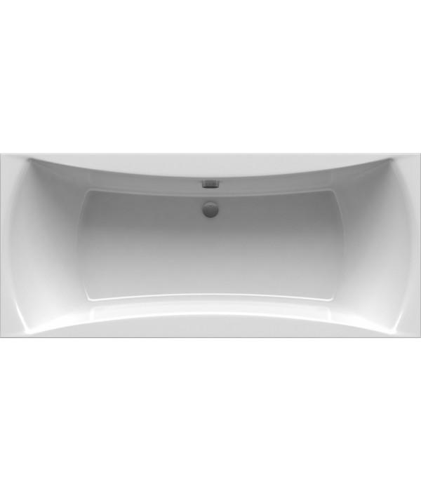 Акриловая ванна Alpen Luna 140x75