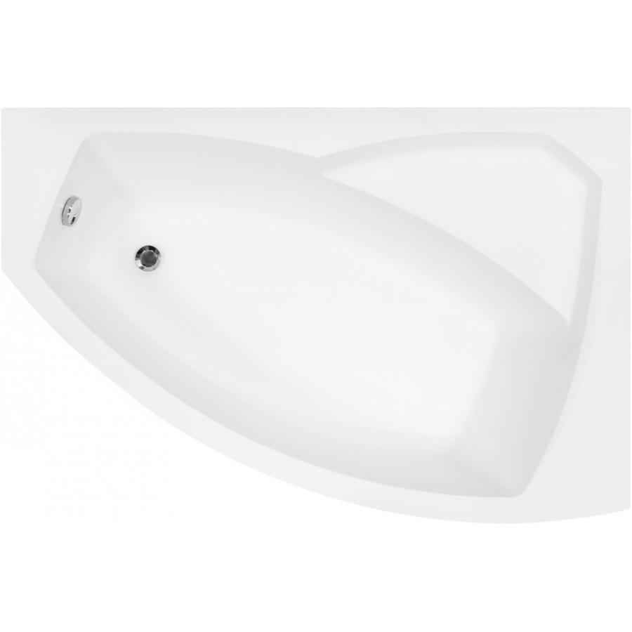 Акриловая ванна Besco Rima 140x90 R