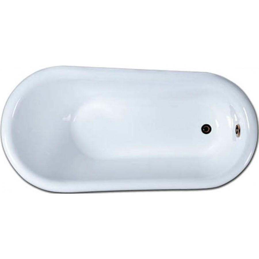 Акриловая ванна Gemy G9030 A фурнитура золото