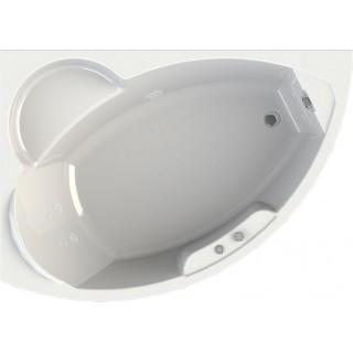 Акриловая ванна Radomir Wachter Алари L с гидромассажем и экраном, форсунки белые