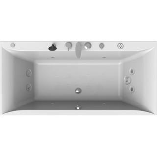 Акриловая ванна Radomir Палермо Спортивный Chrome 180x85