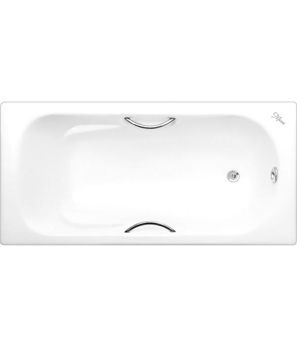 Чугунная ванна Maroni Colombo 160x75 с ручками