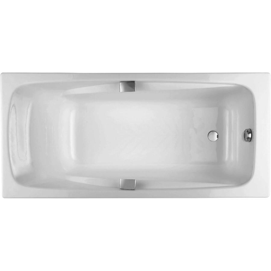 Чугунная ванна Jacob Delafon Repos 170x80, с ручками