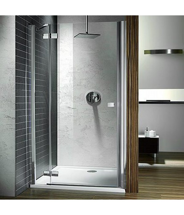 Душевая дверь в нишу Radaway Almatea DWJ 110 прозрачное стекло L