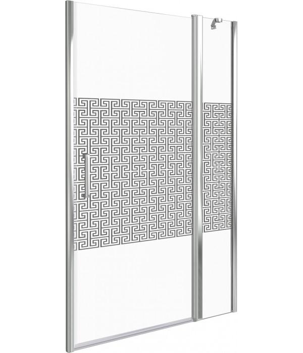 Душевая дверь в нишу Good Door Fantasy WTW-110-F-CH