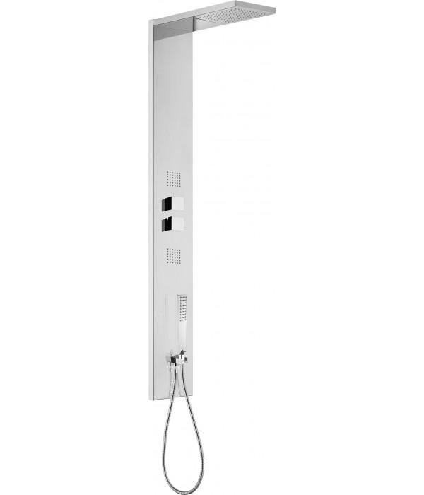 Душевая панель Bossini Manhattan Panel 4 Monocomando L00891 хром