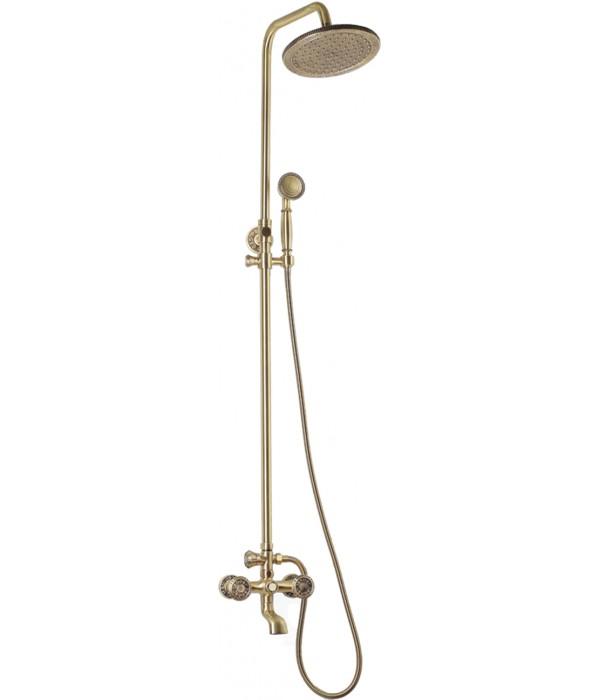 Душевая стойка Bronze de Luxe 10121R