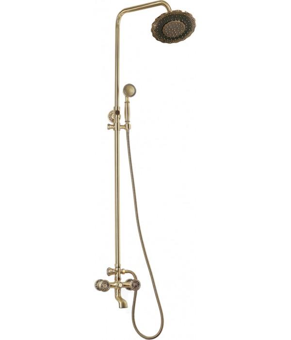 Душевая стойка Bronze de Luxe 10121DF