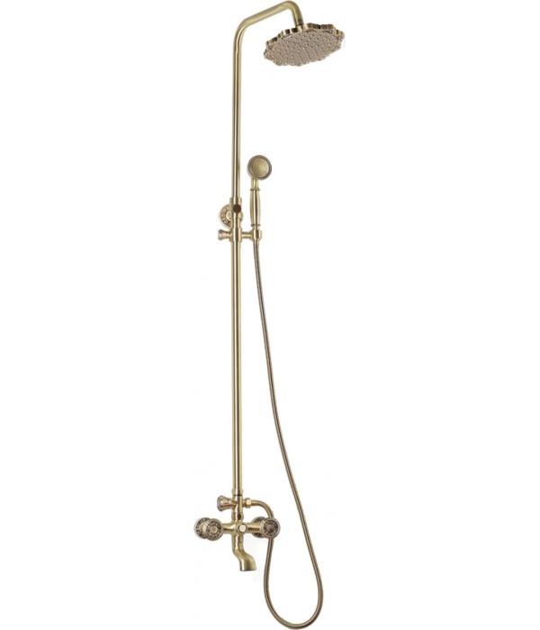 Душевая стойка Bronze de Luxe 10121F