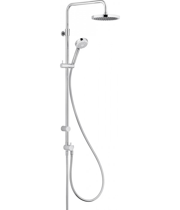 Душевая стойка Kludi Logo dual shower system 6809305-00