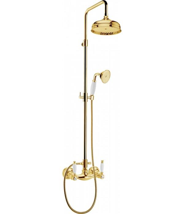 Душевая стойка Webert Dorian DO760405010 золото