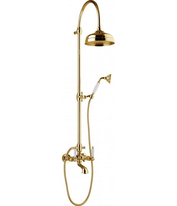 Душевая стойка Webert Dorian DO721208010 золото