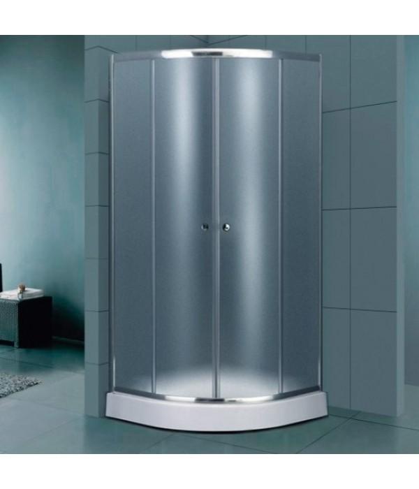 Душевой уголок Dolphin TN-209-J(5) 100x100, стекло fabric