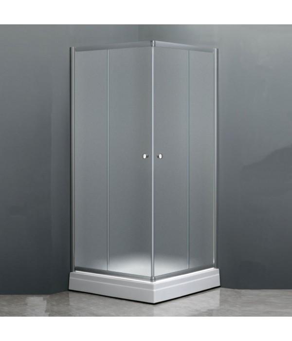 Душевой уголок Dolphin TN-205-J(4) 80x80, стекло fabric