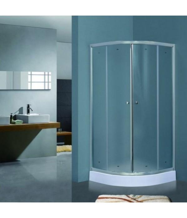 Душевой уголок Timo TL-8001 Fabric Glass с поддоном