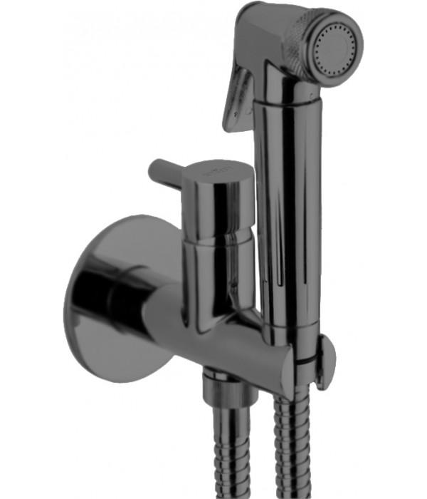 Гигиенический душ Webert Elio EL870301985 со смесителем, графит
