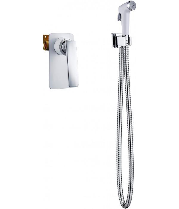 Гигиенический душ Timo Helmi 4089/00-16SM со смесителем, С ВНУТРЕННЕЙ ЧАСТЬЮ