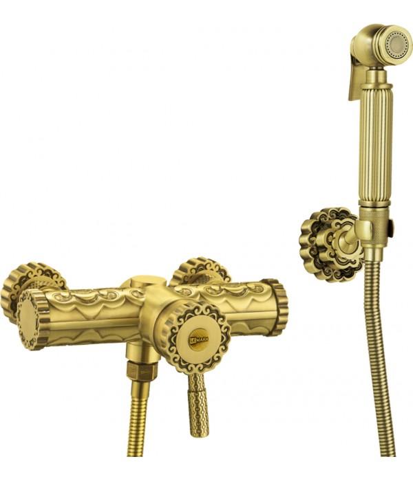 Гигиенический душ Lemark Jasmine LM6618B со смесителем