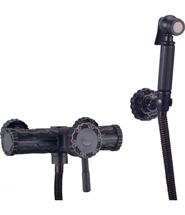Гигиенический душ Lemark Jasmine LM6618ORB со смесителем