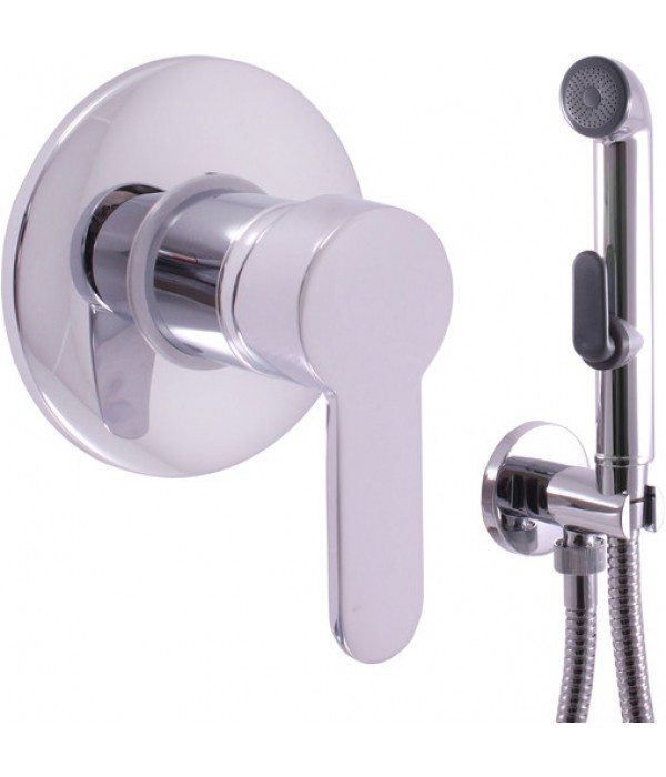 Гигиенический душ Rav Slezak Zambezi ZA042 со смесителем, С ВНУТРЕННЕЙ ЧАСТЬЮ