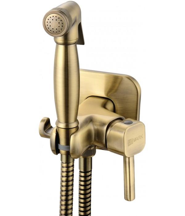 Гигиенический душ Lemark Solo LM7165B со смесителем, С ВНУТРЕННЕЙ ЧАСТЬЮ