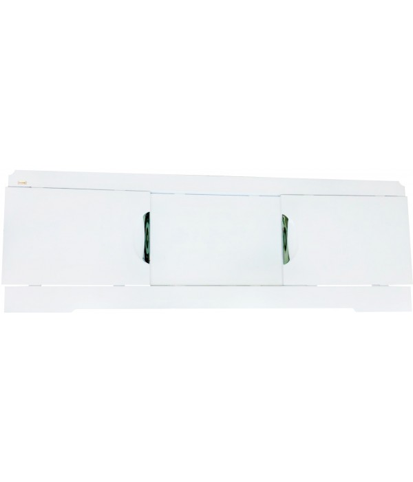 Экран Misty Лаванда купе 170 см белая эмаль