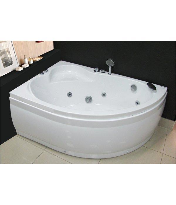 Акриловая ванна Royal Bath ALPINE 140 левая