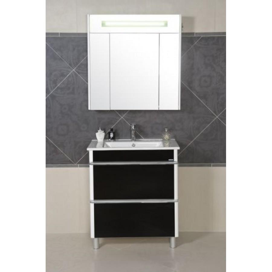 Комплект мебели Aquarodos Париж 75 Черный