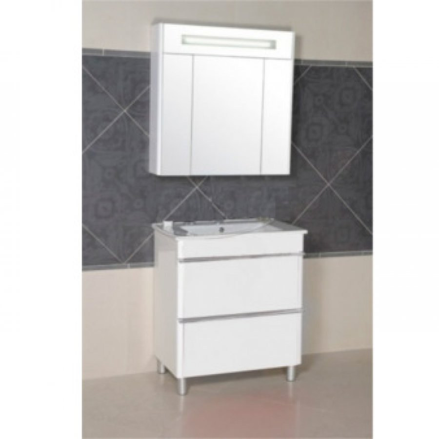 Комплект мебели Aquarodos Париж 75 Белый