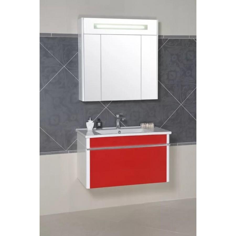 Комплект мебели Aquarodos Париж 85 Красный подвесной
