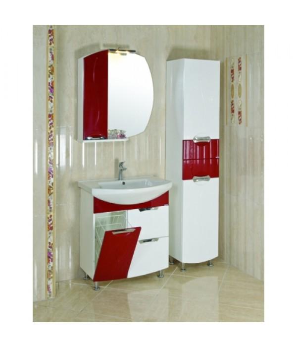 Комплект мебели Aquarodos Премиум 75 Красный