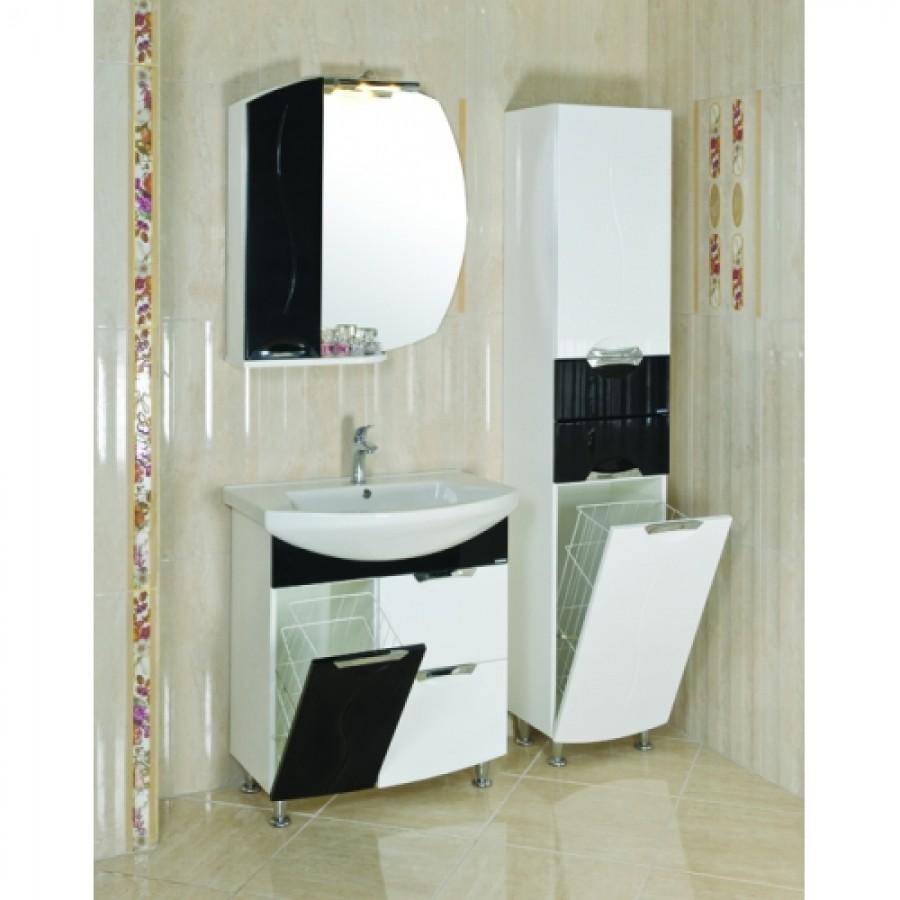 Комплект мебели Aquarodos Премиум 75 Черный