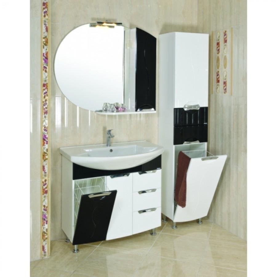 Комплект мебели Aquarodos Премиум 90 Черный