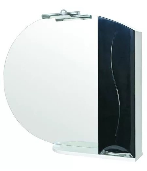Зеркало Aquarodos Премиум 95 R Черный