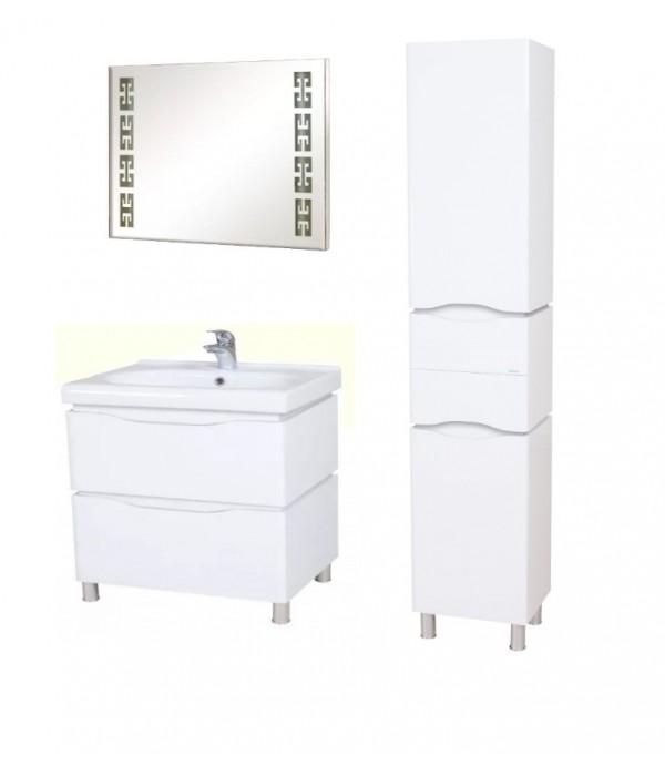 Комплект мебели Aquarodos Венеция 80 Белый