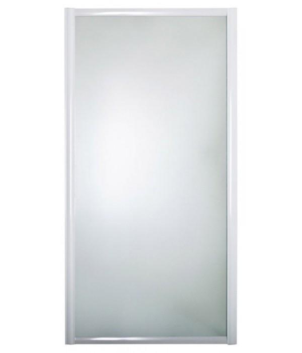 Шторка на ванну 1MarKa 80 боковая, белая