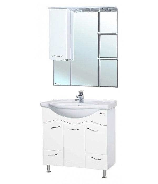 Комплект мебели Bellezza Мари 85 белый