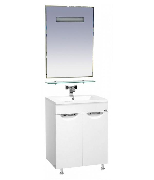 Комплект мебели для ванной 60 15.6 М белая