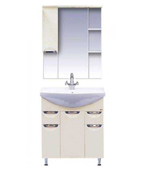 Комплект мебели для ванной 75 15.7 М бежевый