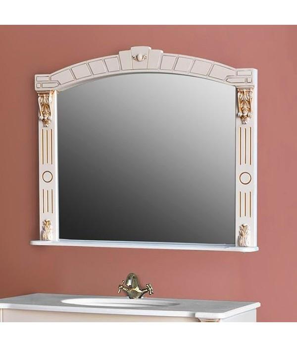 Зеркало для ванной Атолл Александрия 100 дорато