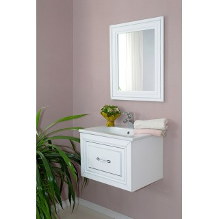 Комплект мебели Атолл Валери 260 патина серебро