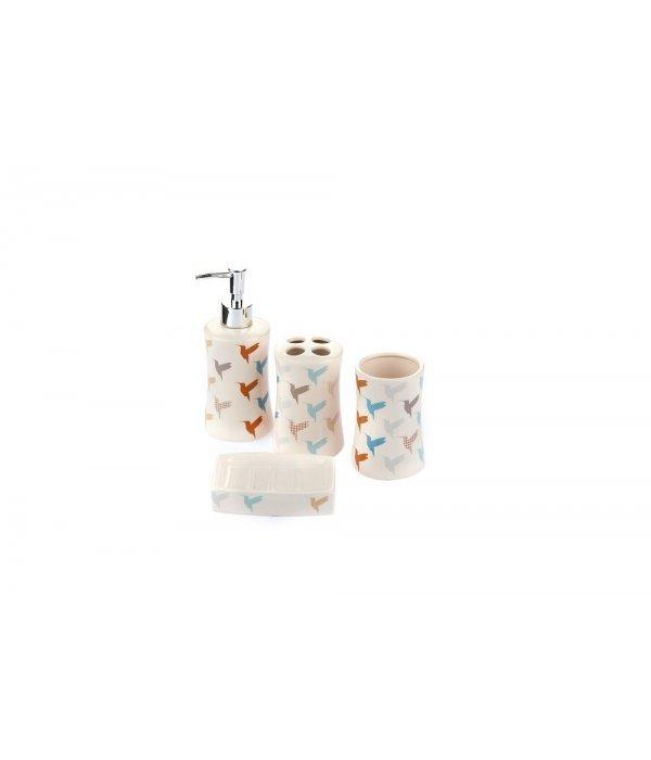 BIRD Набор аксессуаров для ванной, 4 предмета