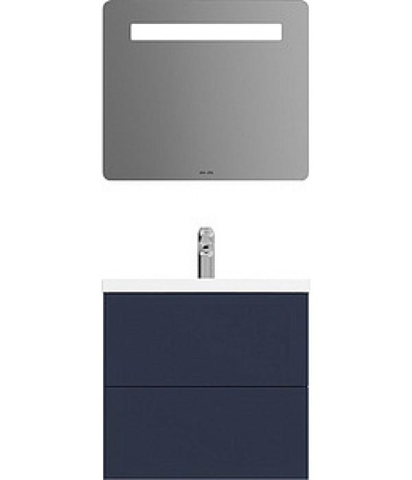 Комплект мебели Am.Pm Gem 60 с 2 ящиками, синий