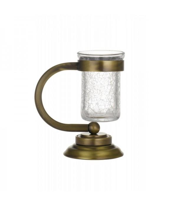 Настольный стакан для зубных щеток Boheme Murano 10911 бронза