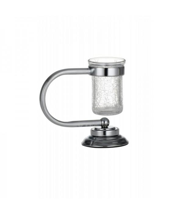 Настольный стакан для зубных щеток Boheme Murano 10911 хром