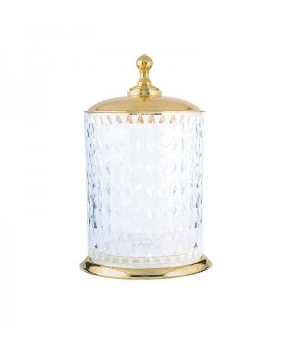 Ведро (хрусталь) Boheme Imperiale 10424 золото