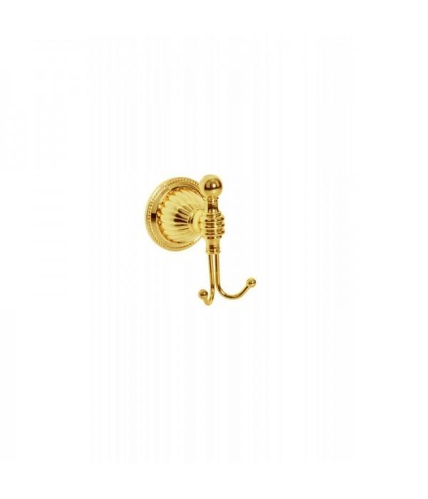 Двойной крючок Boheme Hermitage 10355 золото