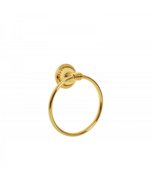 Держатель для полотенца Boheme Hermitage 10354 золото
