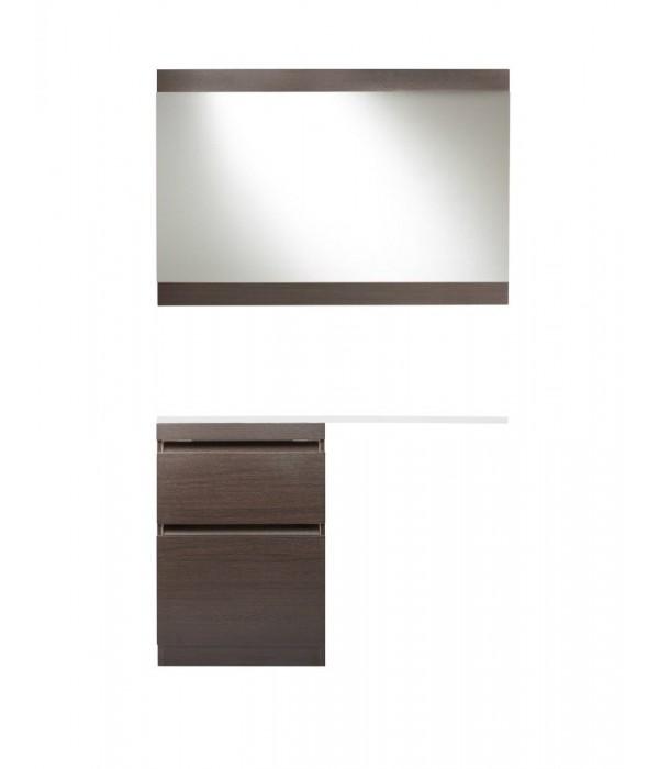 Комплект мебели Style Line Даллас 120 Люкс Plus напольная, коричневый
